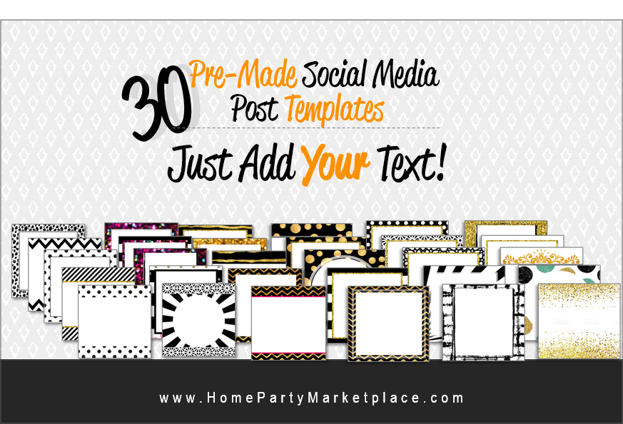 30 pre-made blog posts just add your text