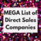 MEGA List Of Direct Sales Companies