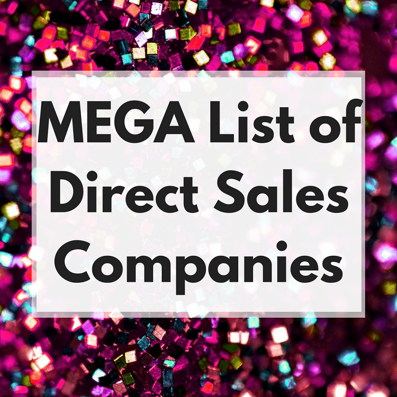 mega huge list direct sales companies
