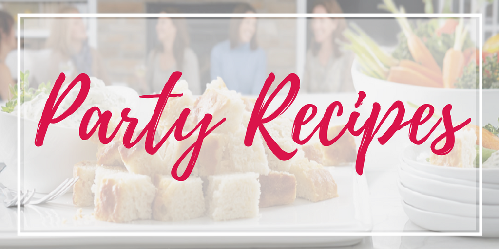 Direct Sales Party Recipes appetizers desserts
