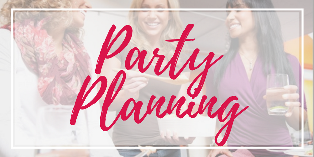 Direct Sales party plan planning