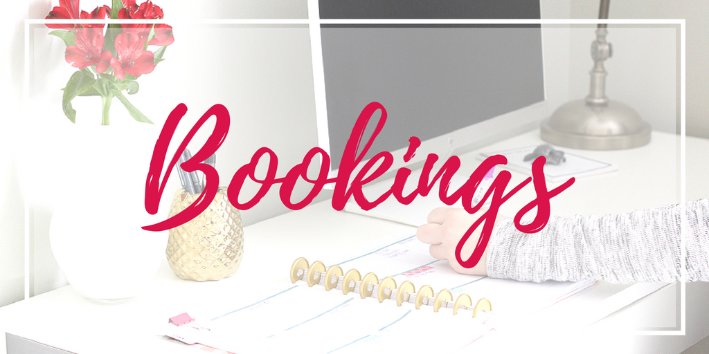direct sales bookings booking hostess party