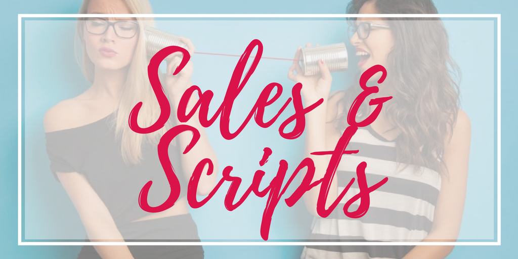 direct sellers sales scripts