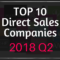Top 10 Direct Sales Companies 2018 Q2