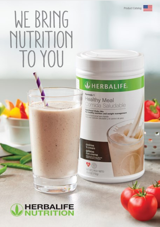 Herbalife Fall 2018 catalog