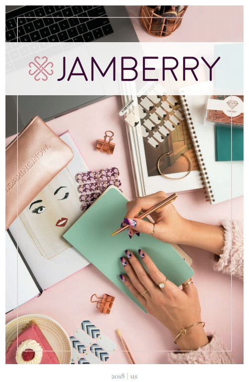 Jamberry Fall 2018 products catalog