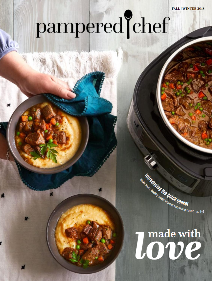 Pampered Chef Fall Winter 2018 catalog