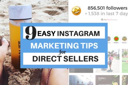 instagram marketing tips holiday season direct sales seller