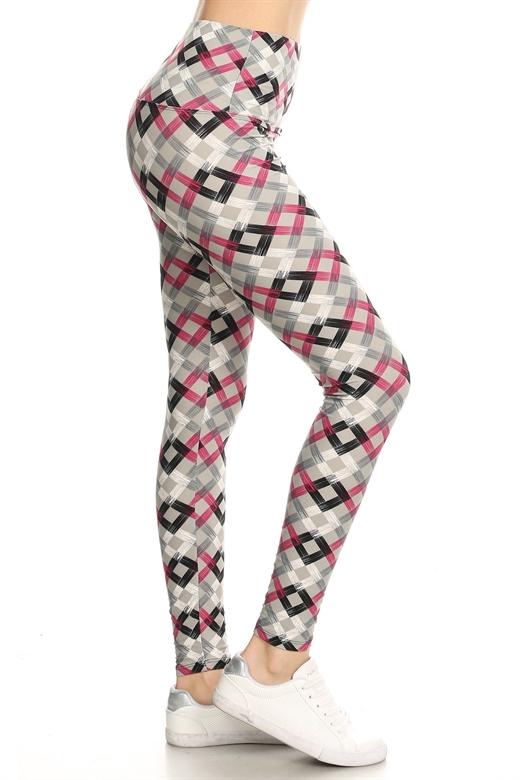 Hello Pink leggings