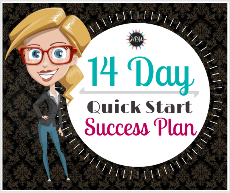 14 Day Quick Start Success Plan challenge direct sellers 940 x 788