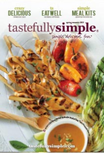 Tastefully Simple Spring Summer 2019 Catalog