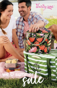 Thirty-one Summer 2020 catalog bags totes