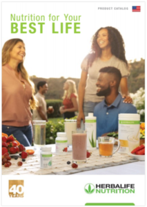 Herbalife 2020 summer catalog 40 years