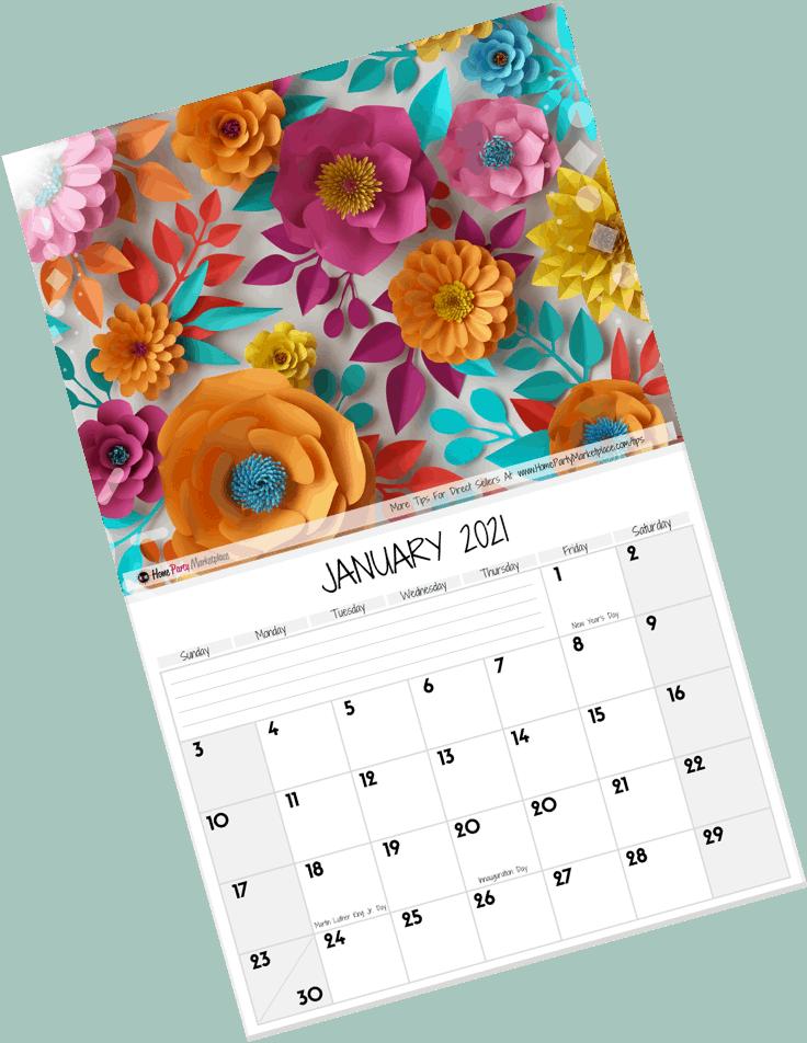 2021 calendar order