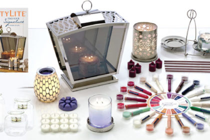 PartyLite candles starter kit commissions